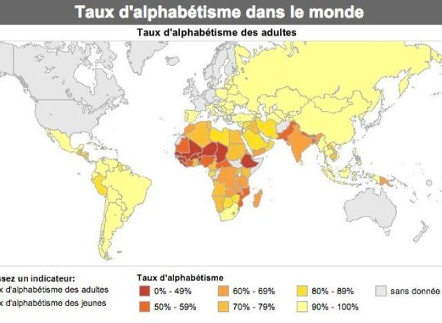 40% des hommes et 60% des femmes analphabètes dans le monde musulman, ça les inquiète…