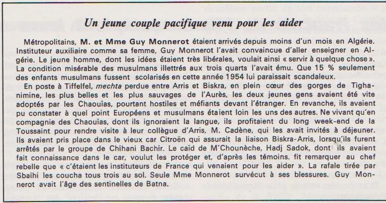 Algérie : encore une ignoble crapulerie de Macron qui fête la Toussaint rouge !!!
