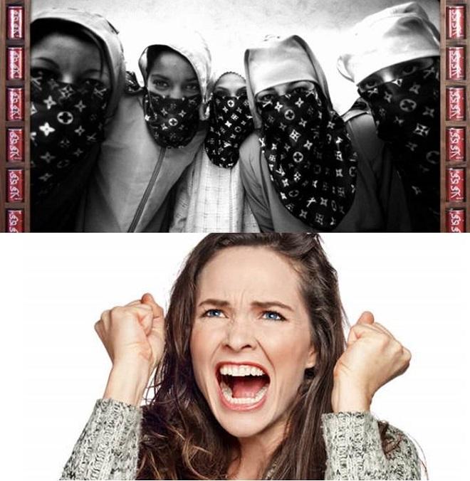 Pollution visuelle : un photographe marocain qui défend  le voile fait une expo  photo dans le métro parisien