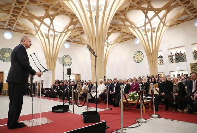 Erdogan a inauguré la mosquée de Cambridge dont le patron est Cat Stevens devenu Yusuf Islam