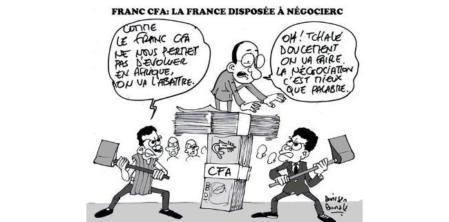 Abandon du franc CFA, mais la France garante pour 8 pays africains !