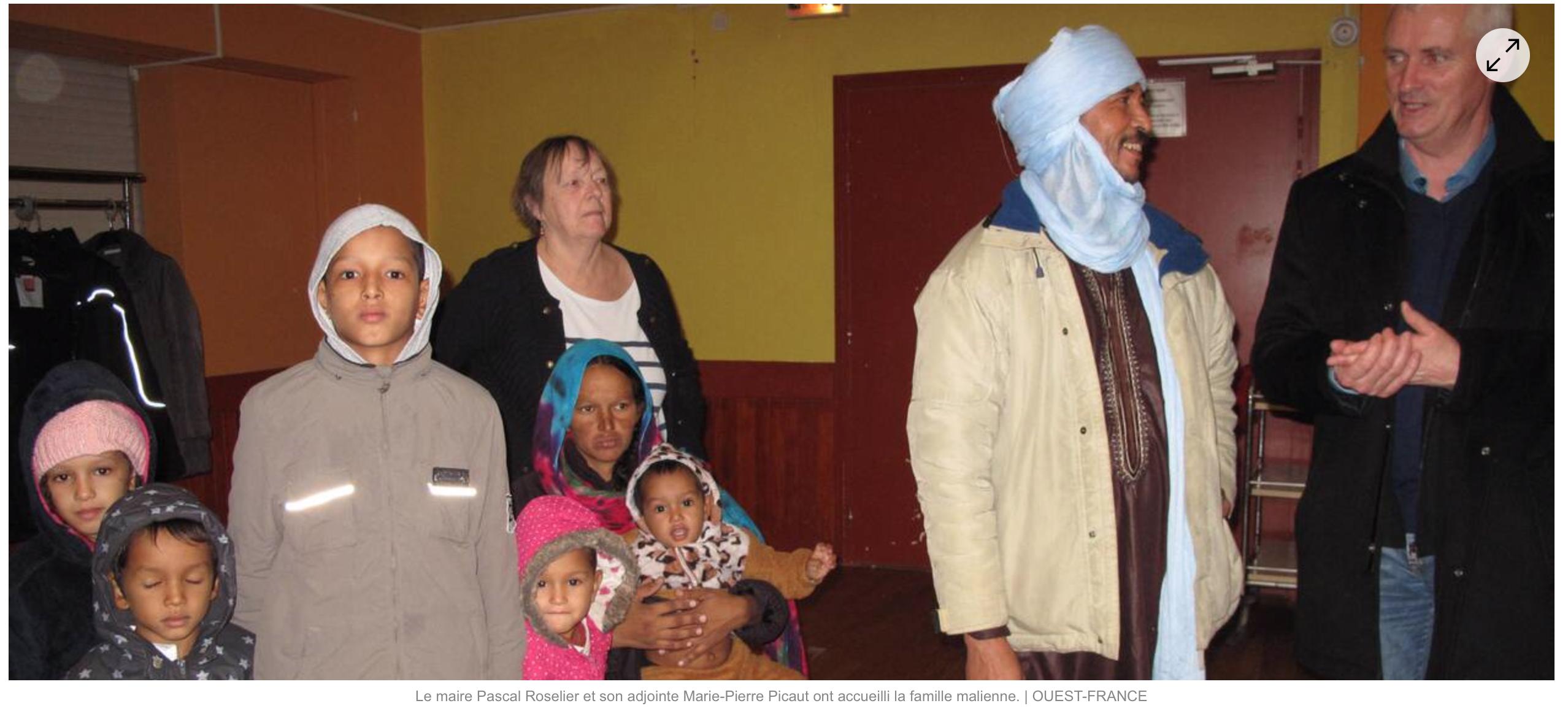Moréac (56) : non à l'installation d'une famille de «migrants» maliens (et ses 6 gosses) !