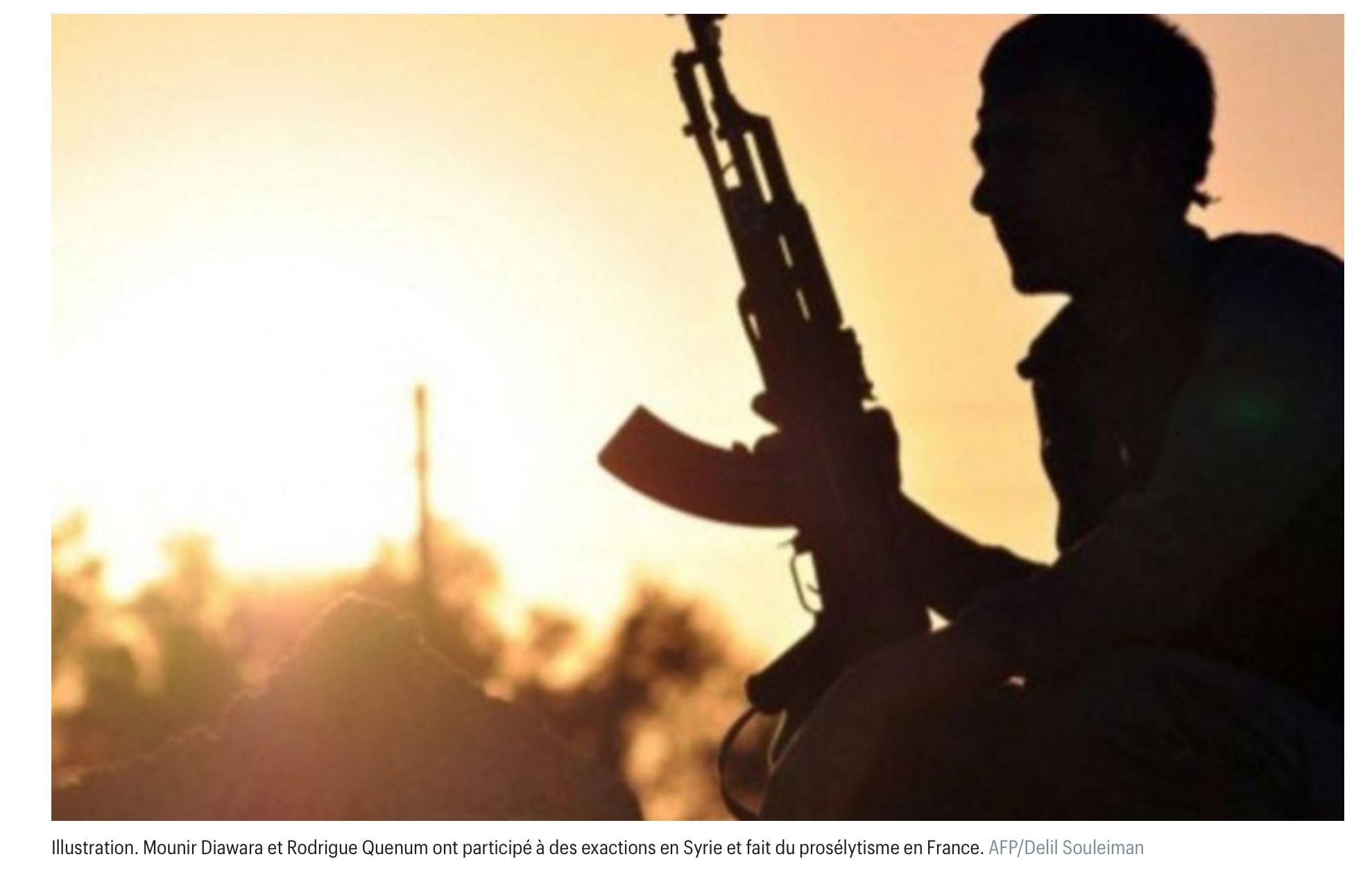 On solde ! Peines réduites en appel pour 2 djihadistes toulousains ayant combattu dans les rangs de Daesch