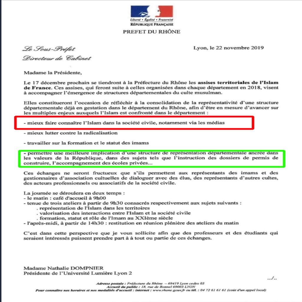 Qui, à part Retailleau et Zineb, rappelle à Castaner que l'Etat n'a pas à  faire connaître l'islam ?