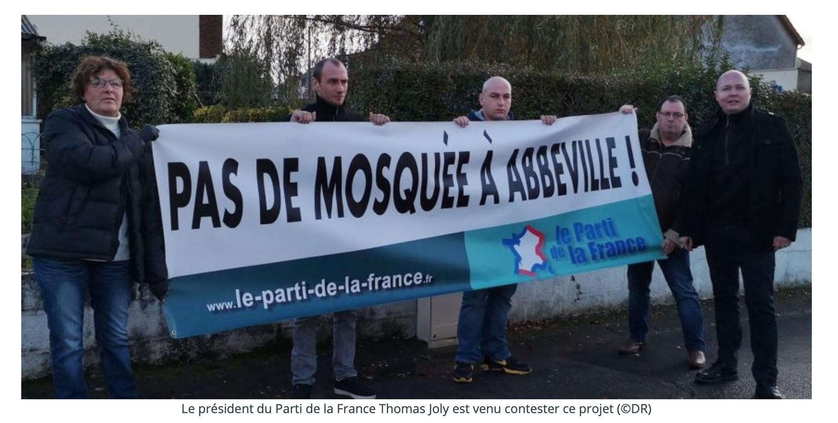 Pour Nicolas Drumont, maire d'Abbeville, une mosquée sans minaret n'est pas une mosquée ! Ben voyons !