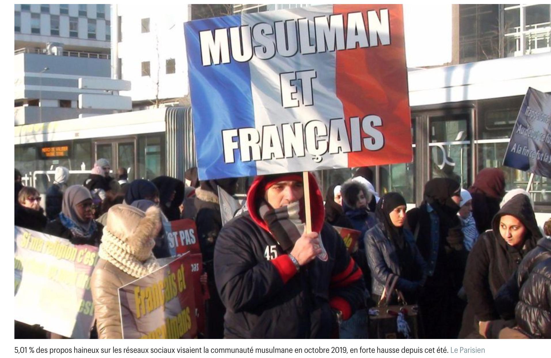 Je ne comprends pas pourquoi les propos anti-musulmans seraient en forte hausse sur Internet…