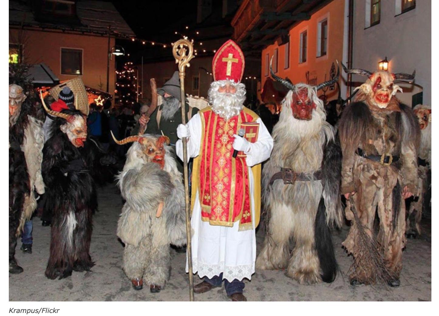 Au Tyrol du Sud, les immigrés perturbent un défilé traditionnel et se font corriger par les diables