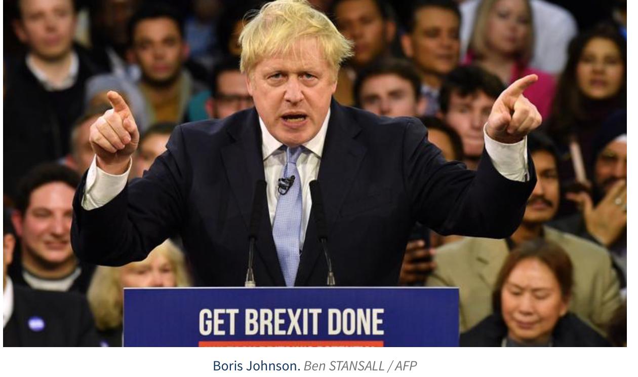 Plébiscite pour le Brexit et Johnson : les Anglais disent merde aux magouilleurs et aux européistes !