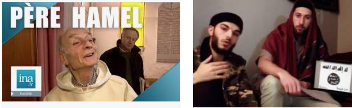 Le responsable de la Ligue Islamique à St Etienne du Rouvray pour un prétendu hommage au père Hamel !