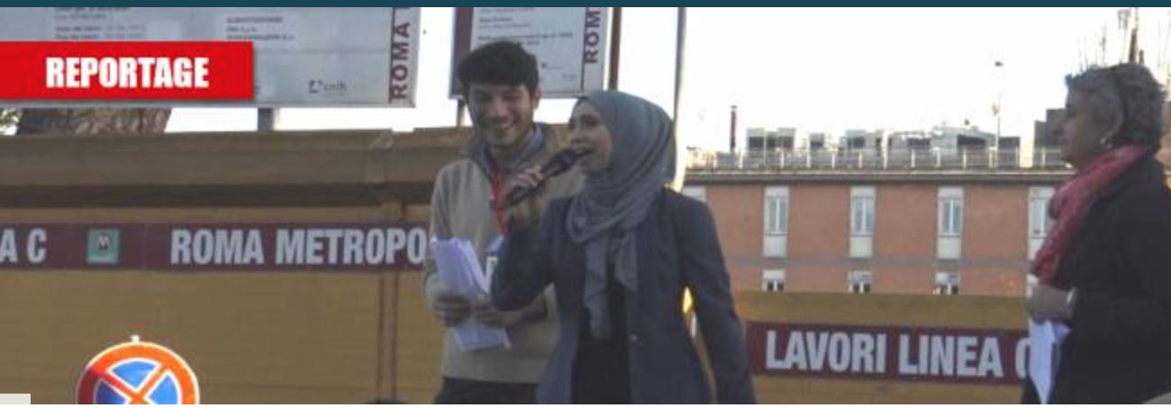 Les sardines en hidjab manifestent à Rome contre Salvini