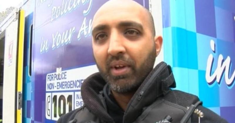 Un policier musulman embauché pour promouvoir la diversité fait partie d'un gang de violeurs