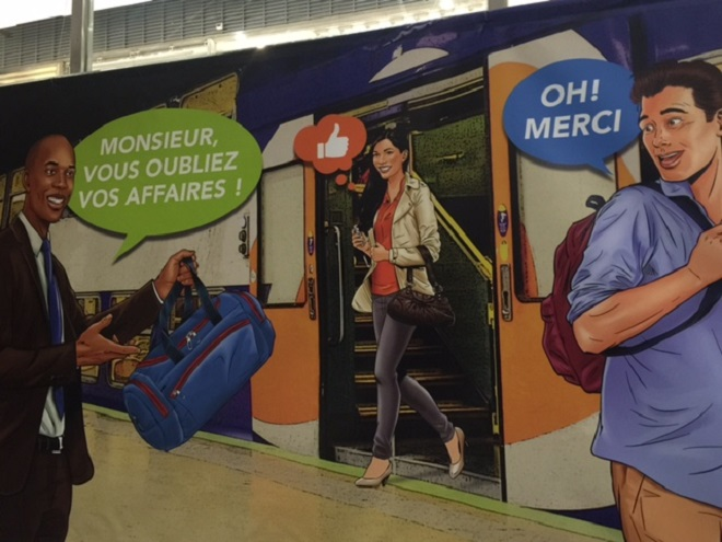 Campagne de la SNCF pour qu'on accepte l'immigration ; malgré les 7485 vols depuis janvier dans le métro ?