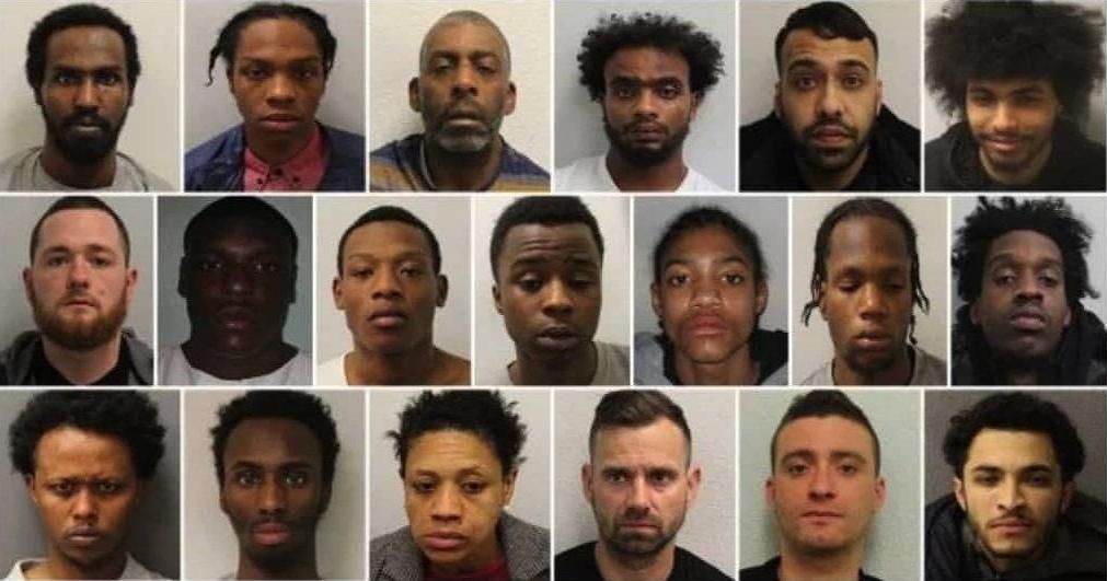 90 % des criminels les plus recherchés de Londres sont des extra-européens