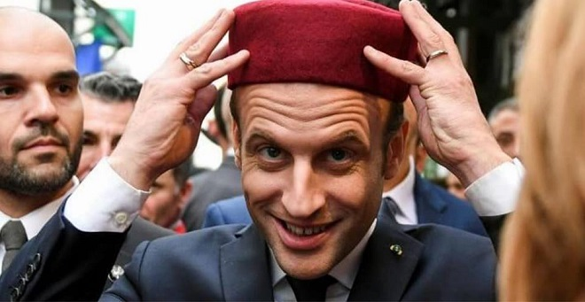 Hollande disait que la partition lui faisait peur, Macron annonce que la partition est là et qu'il faut l'accepter