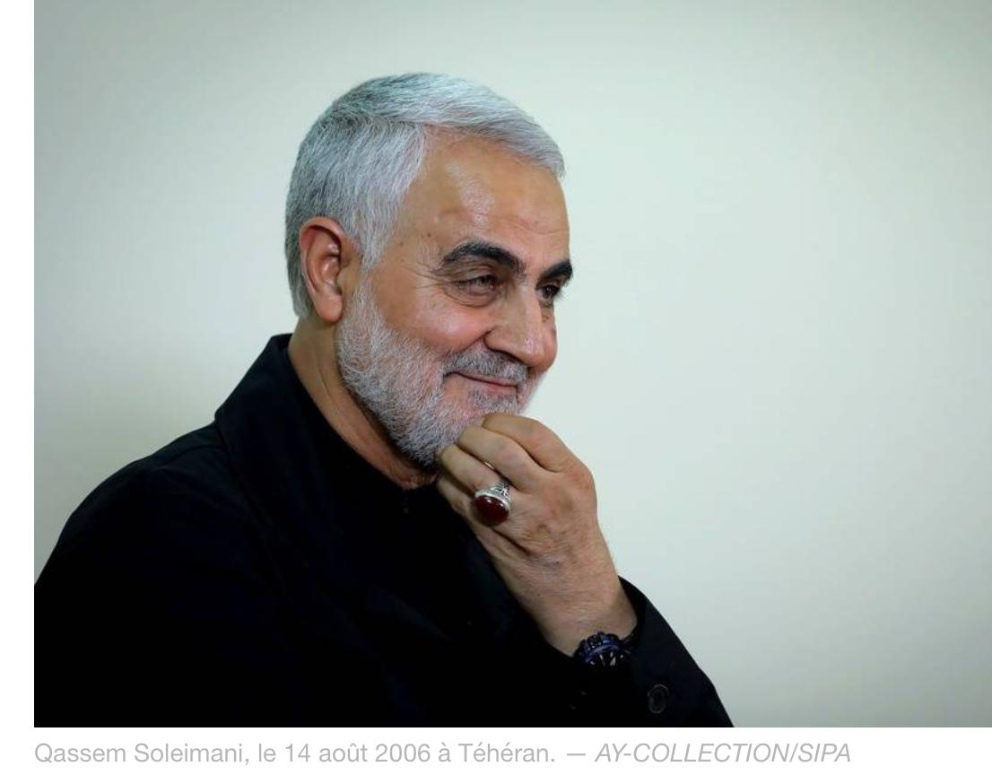 Grande nouvelle : les Américains ont tué le général iranien Qassem Soleimani à Bagdad !