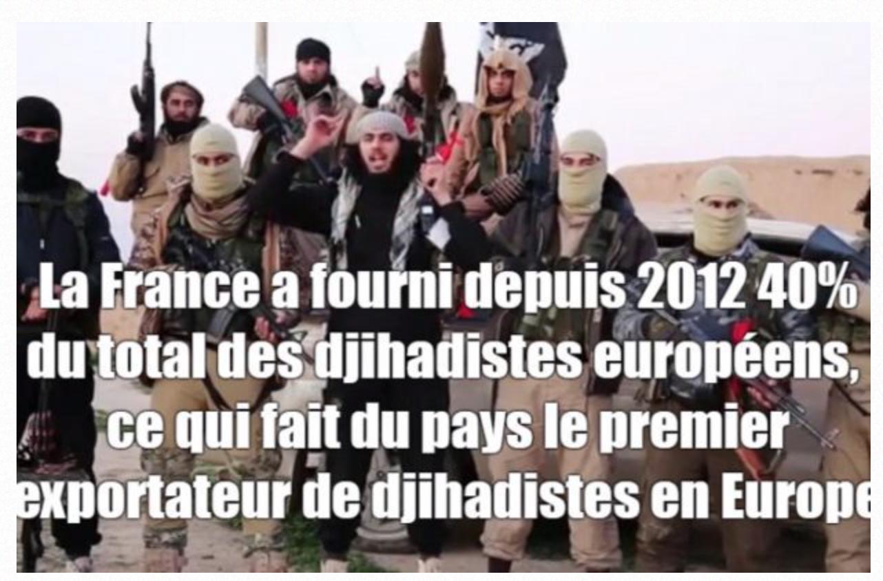 La criminelle Belloubet rapatrie les djihadistes… 100 fois plus nombreux qu'en 1990