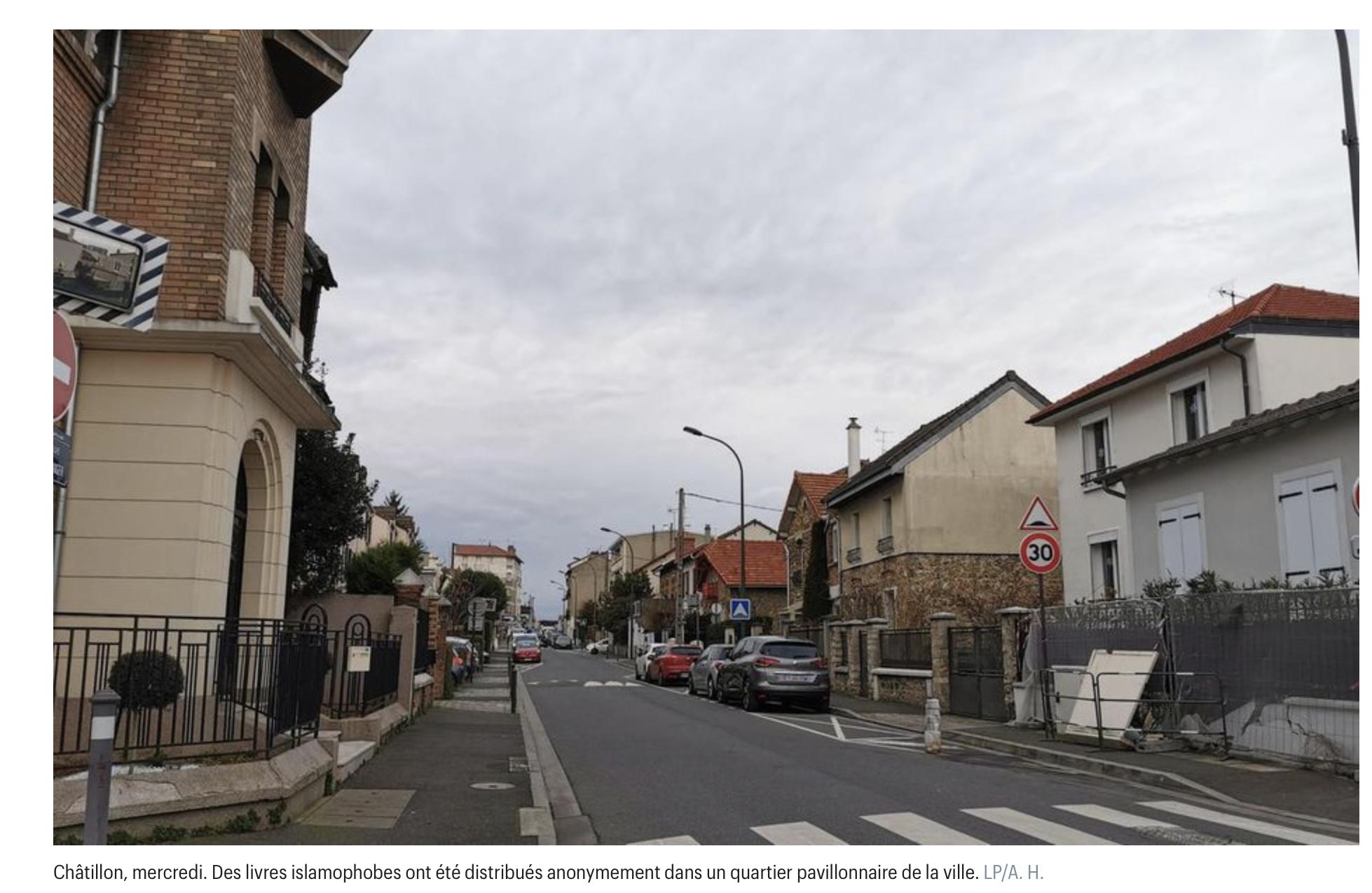 Anissa Hammadi enquête : qui distribue secrètement nos livres à Châtillon ?