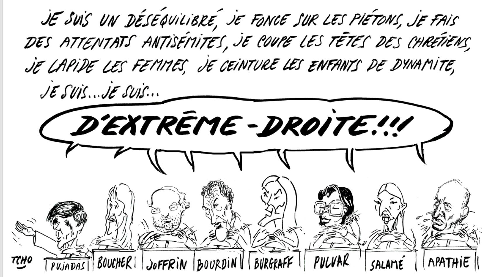 Castaner classe Debout La France et le RN à l'extrême-droite ? C'est la place de LREM !
