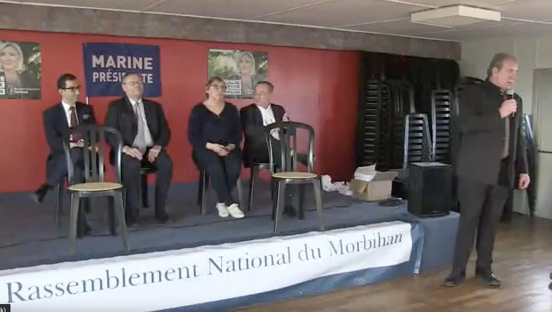 Galette du RN à Guer (Morbihan) : magnifiques discours de Jean Messiha et Gilles Lebreton