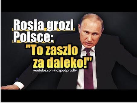 Quand Poutine refait l'Histoire, Polonais refait surface