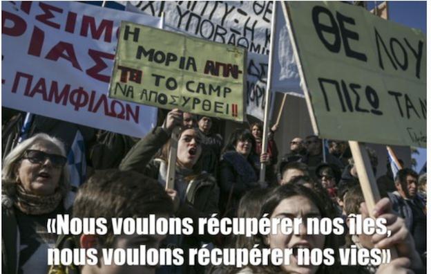 Comme les Grecs, manifestons contre l'immigration : «nous voulons récupérer nos vies»