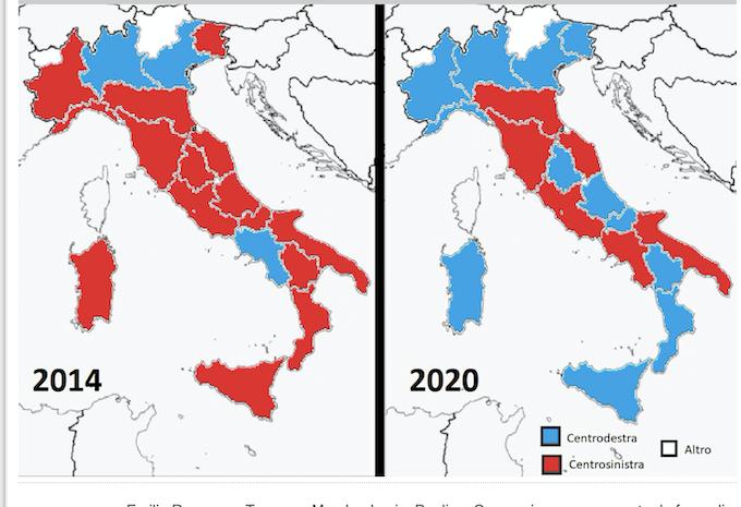 Italie : la droite a gagné 8 régions sur 9 mais on refuse toujours au peuple italien le droit d'aller voter….