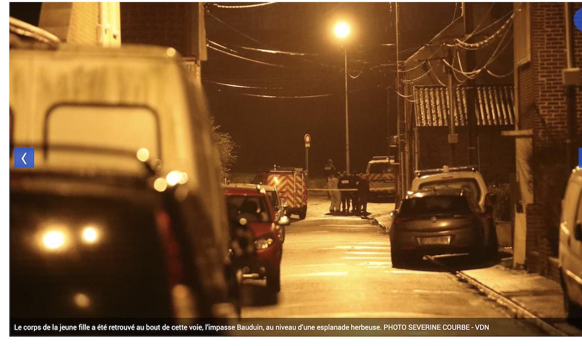 Ces journaux qui veulent cacher qu'une adolescente de 17 ans a été égorgée à Sallaumines (Pas-de-Calais)…