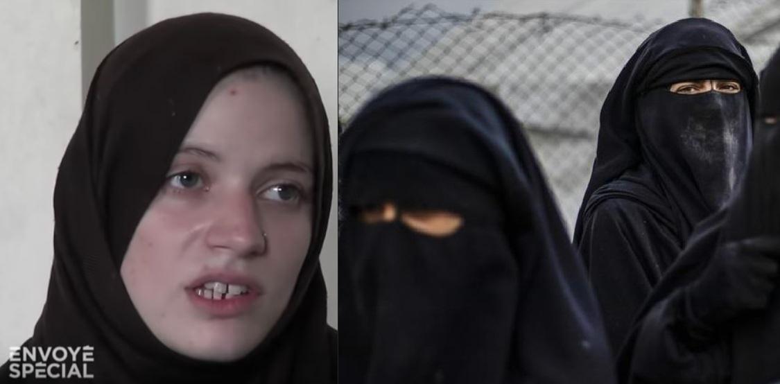 Paroles de femmes de djihadistes : » j'ai rien vu, j'ai rien fait, cépaçalislam !»