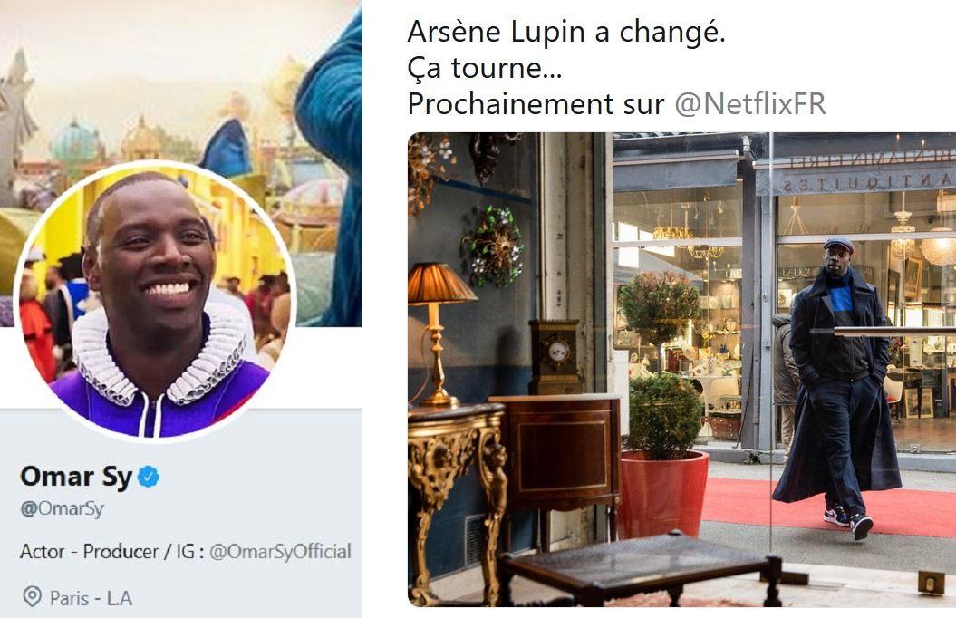 En 2020, Omar Sy sera… Arsène Lupin