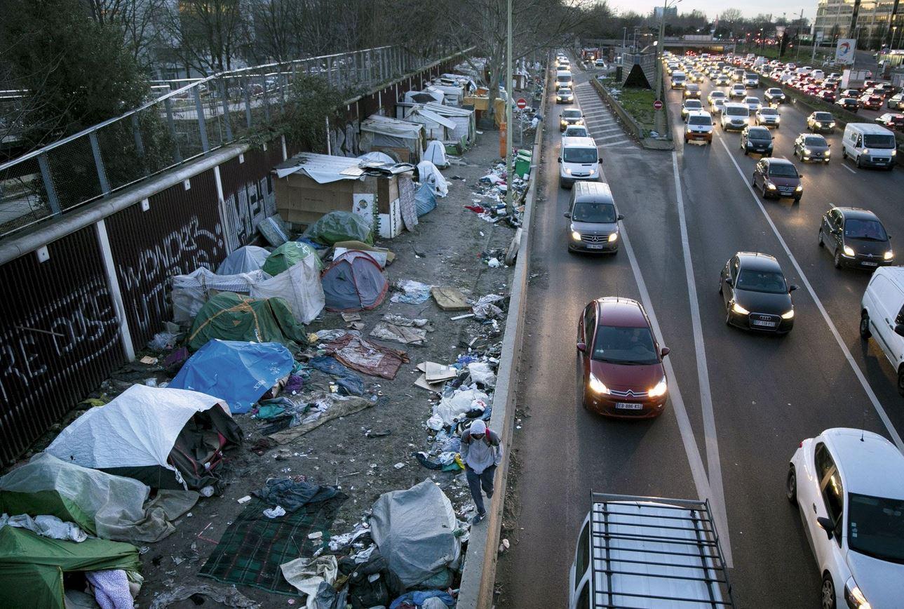 «Le bidonville de la honte» : là où vivent nos «futures bombes»