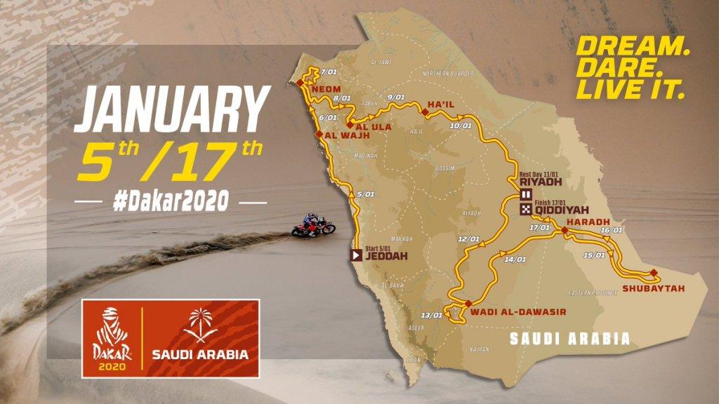 Après l'Afrique et l'Amérique du Sud, le Paris-Dakar déménage en… Arabie saoudite