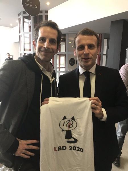 Macron trouve ça drôle, que des Gilets jaunes aient perdu un oeil à cause de lui ?
