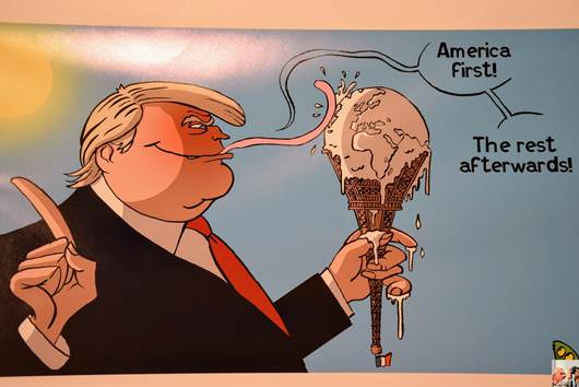 Quand le crayon-missile Vadot s'attaque à Trump