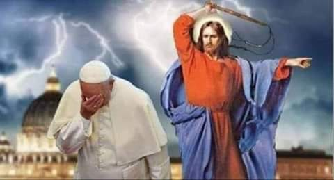 L'anti-pape François veut qu'on jeûne pendant le ramadan ? Plutôt crever, qu'il aille se faire foutre !