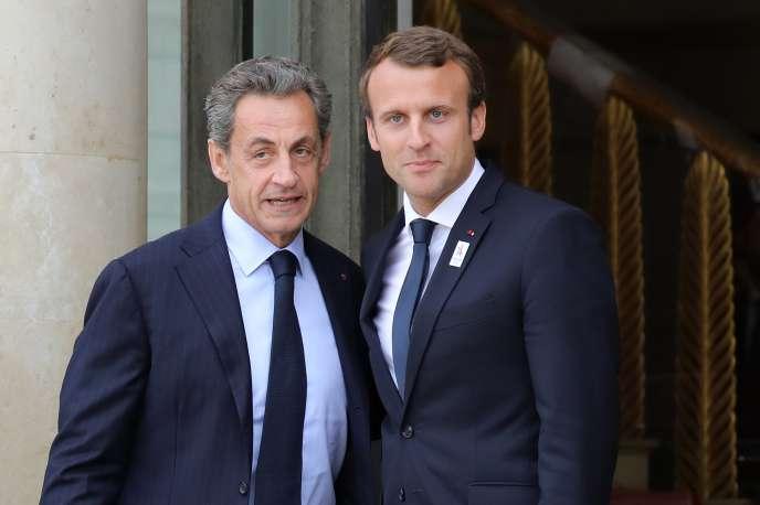 Macron essaie-t-il de récupérer l'électorat LR en envoyant Sarkozy aux obsèques du sultan d'Oman ?
