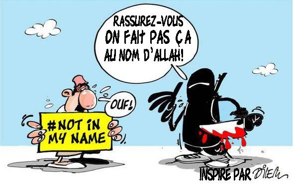 «C'est pas ça l'islam» : les abracadabrantes excuses que les journalistes trouvent aux terroristes…