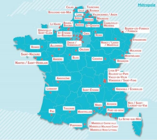 100 millions pour les «cités éducatives» de Macron, regardez la carte, évaluez les dégâts…