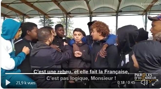 La partition de la France est en marche : petite illustration avec cette courte vidéo