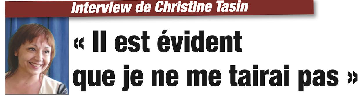 Interview de Christine Tasin dans «Présent» : il est évident que je ne me tairai pas
