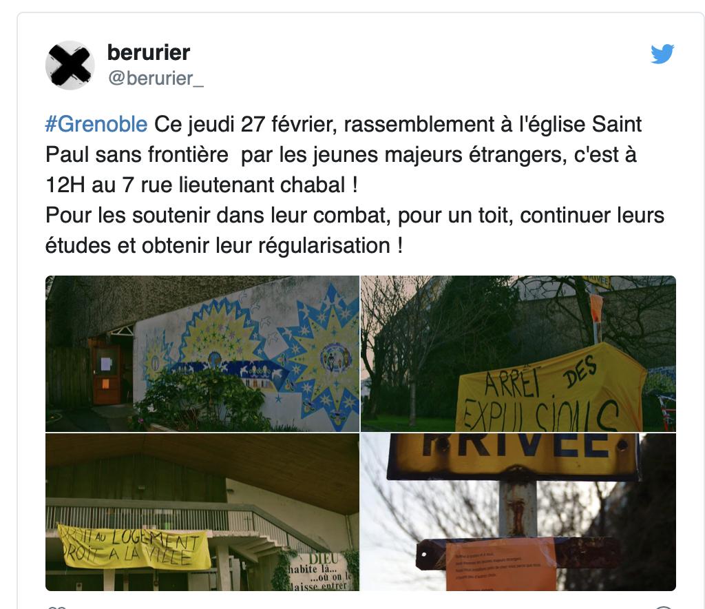Grenoble : pourquoi les «migrants» occupent-ils une église et non une mosquée ?