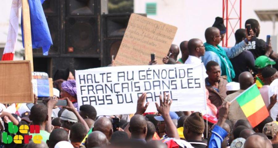 A Bamako, on manifestera contre «le génocide français dans les pays du Sahel»