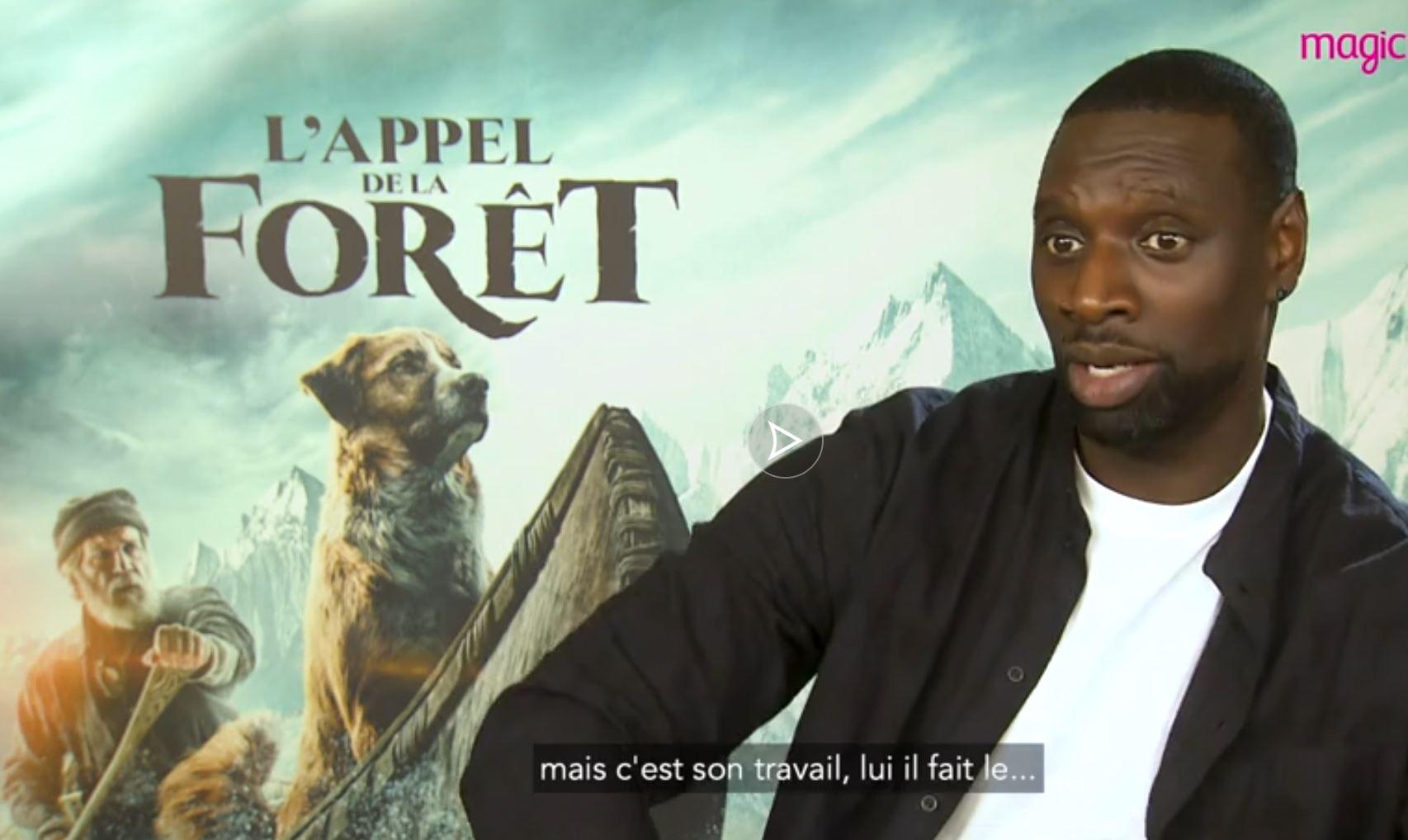 Après Arsène Lupin, Omar Sy joue un trappeur dans L'appel de la Forêt