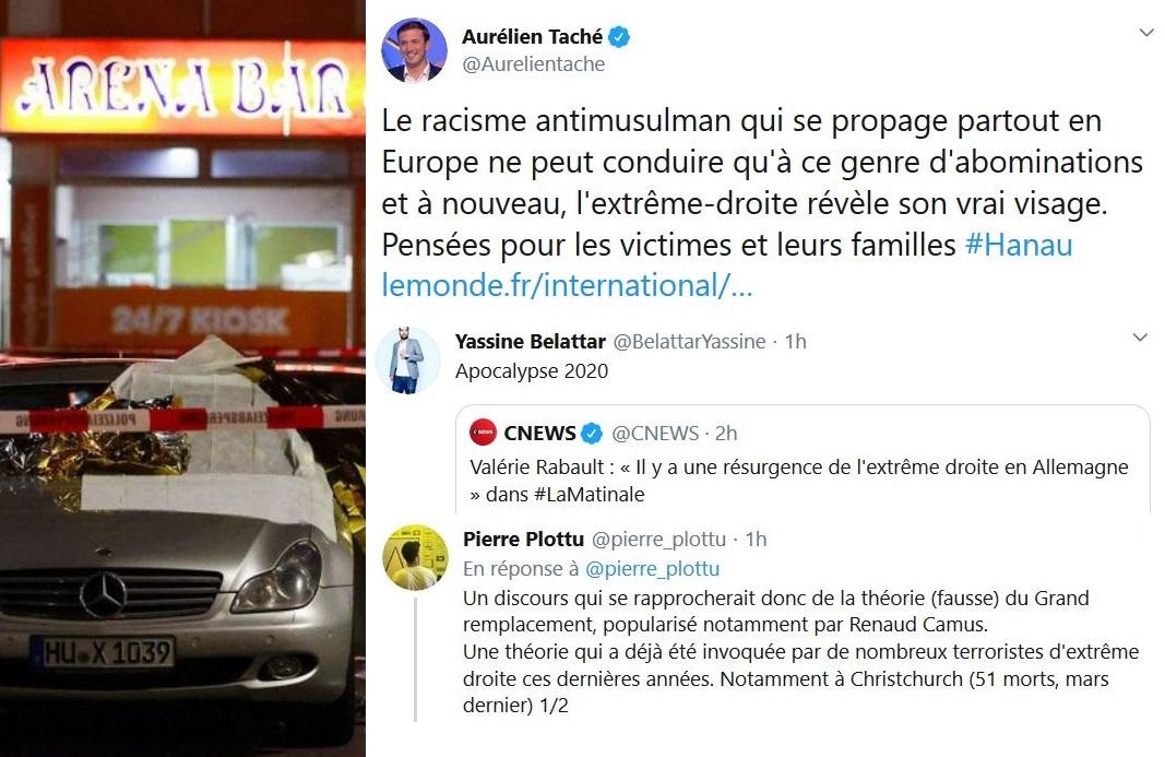 Fusillade à Francfort : la gauche accuse l'extrême droite et… Renaud Camus !
