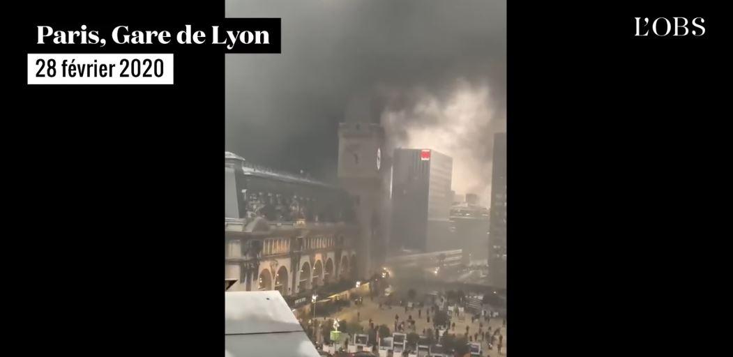 Des opposants congolais mettent le feu au quartier de la gare de Lyon