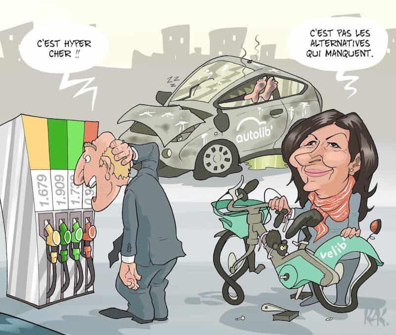 Le cadeau à 15 millions d'Anne Hidalgo pour sauver Velib' de la faillite… avant les municipales….