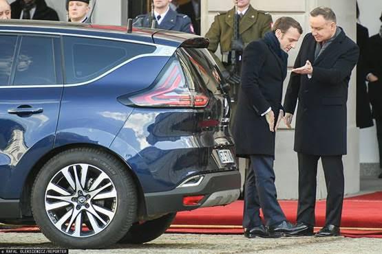 Visite de Macron en Pologne : la mécanique française dit NON au président