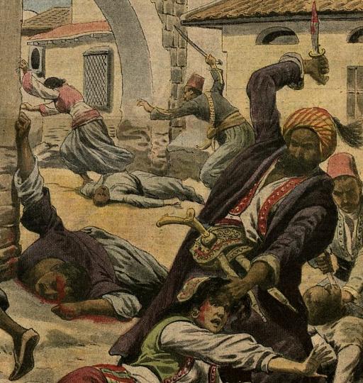 Le massacre des Arméniens par les Turcs à Adana (1909)