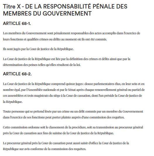 Oui, il faudra remanier la Cour de Justice de la République pour juger Philippe, Buzyn, Véran, Castaner, Ndiaye…