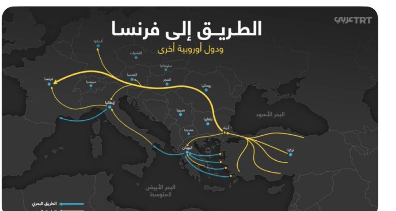 La télé turque donne aux migrants les itinéraires pour rejoindre la France… et Macron soutient Erdogan !