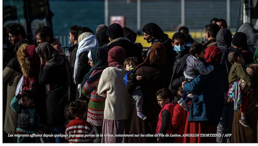 On n'en veut pas de leurs migrantes voilées avec leurs chiards